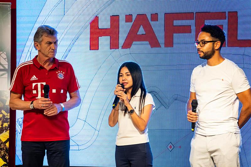 Auch anwesend: FC-Bayern-Legende Klaus Augenthaler. Foto: Häfele