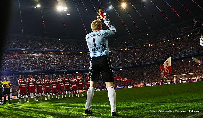 Foto: Abschiedsspiel in der Allianz Arena, München, am 2.9.2008.