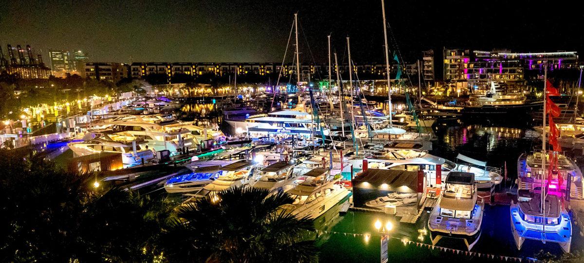 Maritime Extravaganz: Singapur Yacht Show