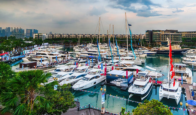 Thailand Lifestyle präsentiert: Singapur Yacht Show 2019. Foto: SYS