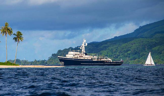 "Singapur Yacht Show 2019: Hier die knapp 59 Meter lange Vintage-Yacht ""Seawolf"". Foto: Seawolf Expedition"