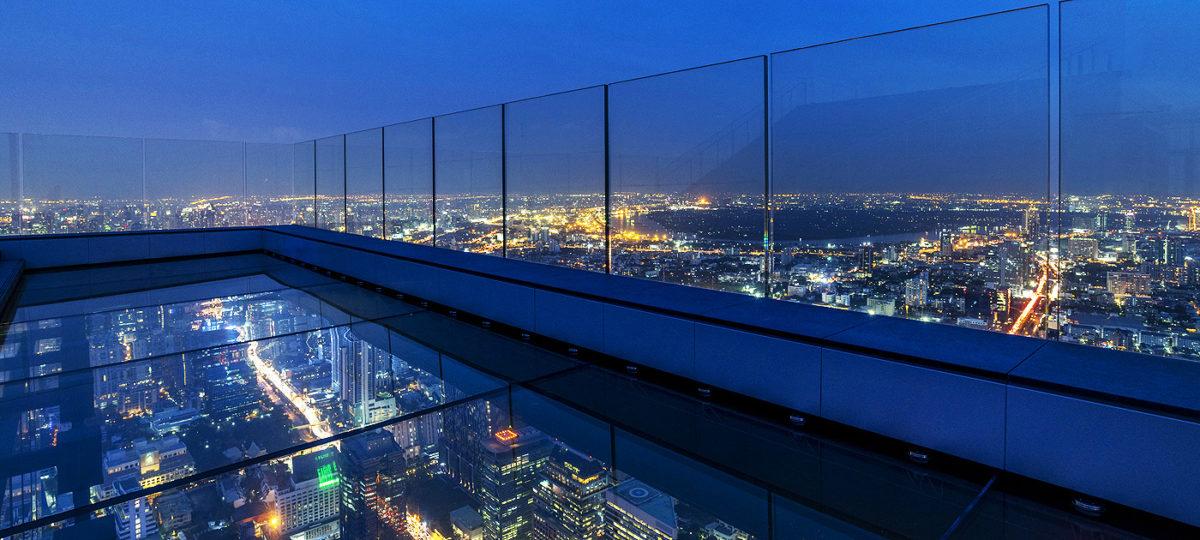 Eröffnung unterm Himmel: Mahanakhon Skywalk