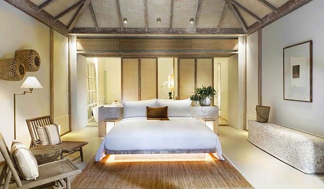 """Blick in mein Schlafzimmer: """"Huen Bon Suite"""" im Raya Heritage Resort"""