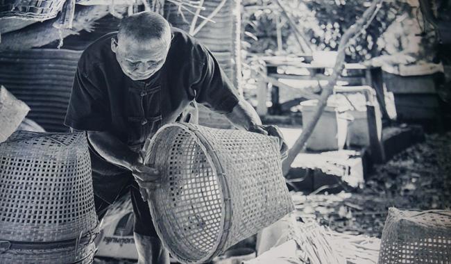 "Impressionen vom ""Par Bong"" Basket Village in Chiang Mai (Bilder der Ausstellung ""Tracing the fading legacy"")"