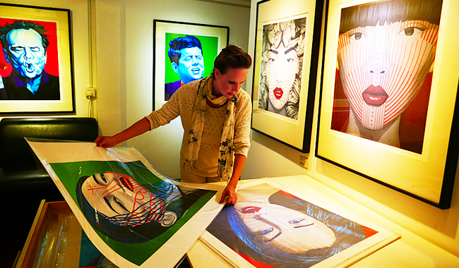 "Besuch der ""One Eleven Gallery"" in Siem Reap"