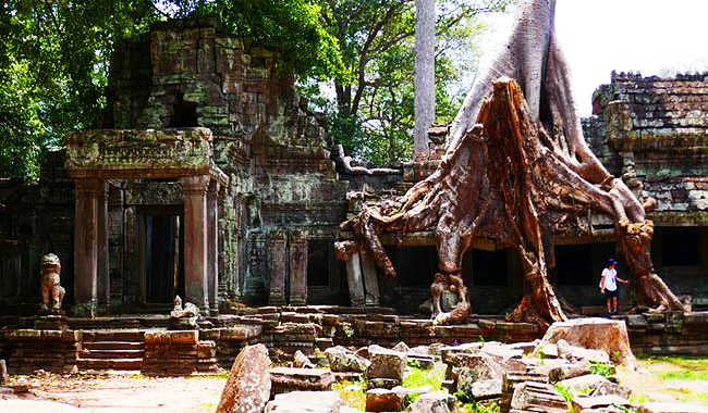"""Wat """"Phrea Khan"""" in Siem Reap"""