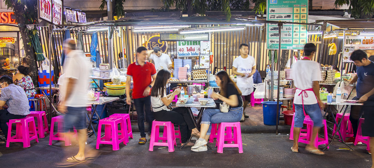 Bangkok Streetfood: Kochbuch von Ben Kindler